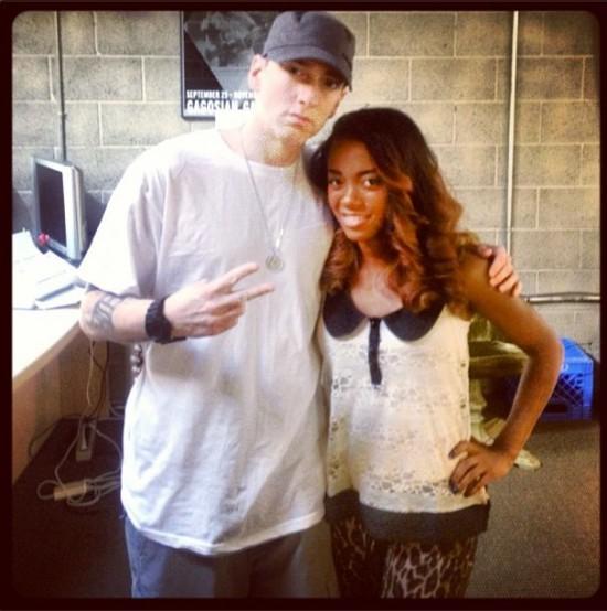 Eminem and Keely Ferguson