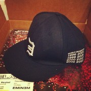 Eminem Baseball Tribute Champ Hat - Home Limited Edition