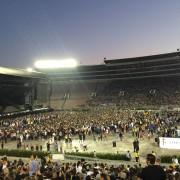 [Эксклюзив] Специальный репортаж с концерта Эминема и Рианны на стадионе Роуз Боул 7 августа 2014