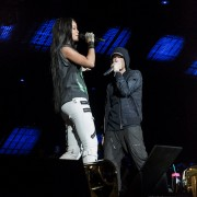 [Эксклюзив] Специальный репортаж с «Монстр-тура» Эминема и Рианны на стадионе МетЛайф 17 августа